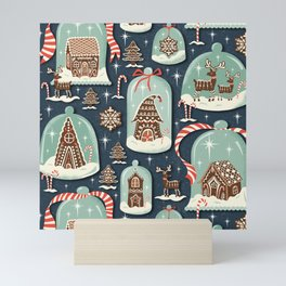 Gingerbread Village Mini Art Print