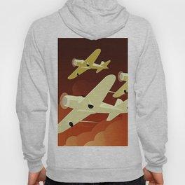 Art Deco Single Engine Planes Hoody