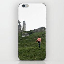 Corfe Castle Wanderlust medieval iPhone Skin