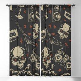 Rock pattern Blackout Curtain