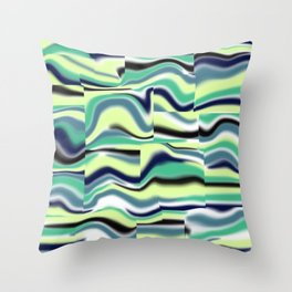 Abstract pattern 155 Throw Pillow