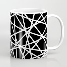 Lazer Dance B&W 1 Coffee Mug