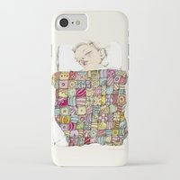 eugenia loli iPhone & iPod Cases featuring sleeping child by Cecilia Sánchez