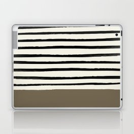 Cappuccino x Stripes Laptop & iPad Skin