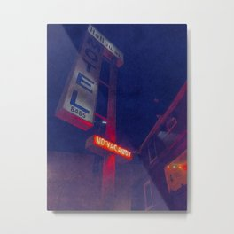 Hollywood Motel - No Vacancy Metal Print