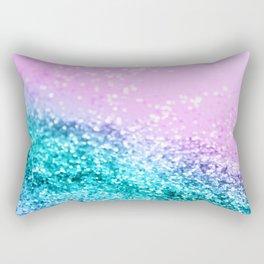 Summer Unicorn Girls Glitter #1 #shiny #decor #art #society6 Rectangular Pillow