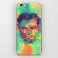 leonardo dicaprio iPhone & iPod Skins featuring Leonardo Dicaprio by Rene Alberto
