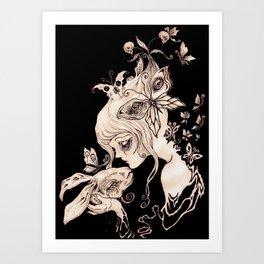 Alice Dreaming Art Print
