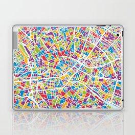 Berlin Germany City Map Laptop & iPad Skin
