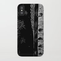 fireworks iPhone & iPod Cases featuring Fireworks by Mr.Willow