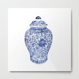GINGER JAR No.1 Metal Print