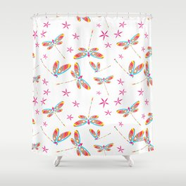 CN DRAGONFLY 1010 Shower Curtain