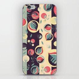 50's floral pattern II iPhone Skin