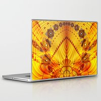 pyramid Laptop & iPad Skins featuring Pyramid by Christine baessler