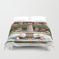 oasis Duvet Covers featuring Oasis by Photaugraffiti