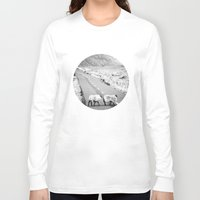 irish Long Sleeve T-shirts featuring Irish Sheeps by GF Fine Art Photography