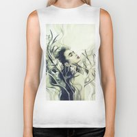 stag Biker Tanks featuring Stag by Anna Dittmann