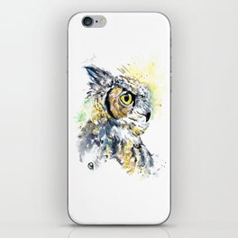 Great Horned Owl iPhone Skin