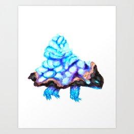 Gem Turtle Art Print