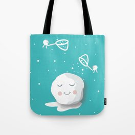 Building a snowball Tote Bag