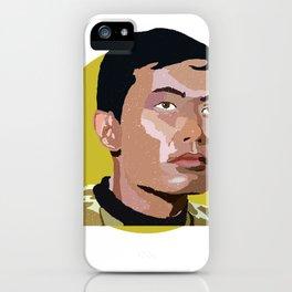 Hikaru Sulu iPhone Case