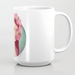 Pink Rose Queen Coffee Mug