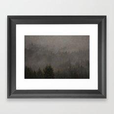 Forest of My Heart Framed Art Print