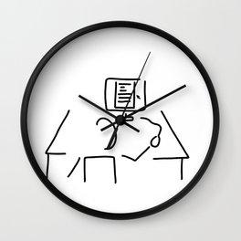 editor technical author script writer Wall Clock