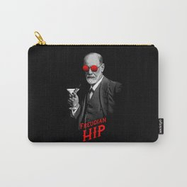 Hipster Psychologist Sigmund Freud Carry-All Pouch