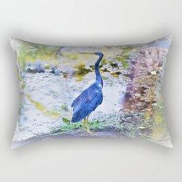 Photo 63 Blue Heron Rectangular Pillow