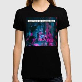Aesthetic Vaporwave emotional Gift for sad eBoy or sad eGirl design T-shirt