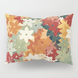 Colorful Flowers Pillow Sham