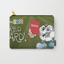 Red Card Comic Carry-All Pouch