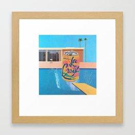 LACROIXSPLASH Framed Art Print