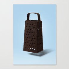 Grater and Coffee Canvas Print