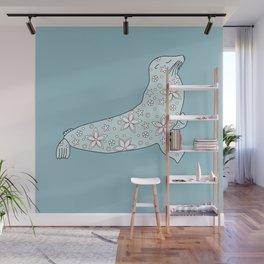 blue fur seal Wall Mural