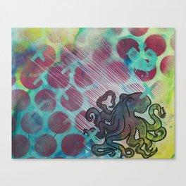 Octopuses Garden Canvas Print