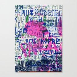 Ecce Gosta Canvas Print