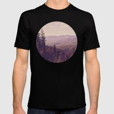 The View LARGE Mens Fitted Tee Black