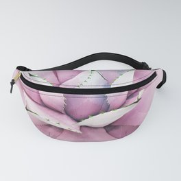 Pink Succulent Fanny Pack