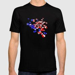 patriotic jigsaw T-shirt