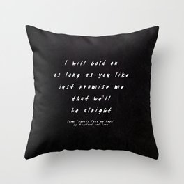 II. Ghosts That We Knew Throw Pillow