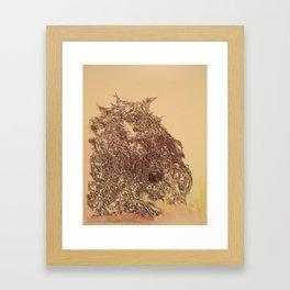 Grateful Soul, a tribute to Jerry Garcia Framed Art Print
