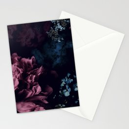 Peony in the dark Stationery Cards