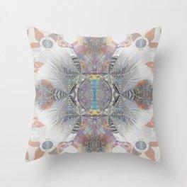 Nameless Soul Channel Meditation Throw Pillow