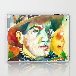 FRITZ LANG - watercolor portrait.2 Laptop & iPad Skin