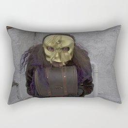 Wearing My Skeleton on My Face, No. 11 Rectangular Pillow