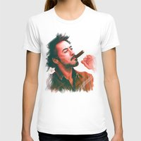 actor T-shirts featuring Mr Downey, Jr. by Thubakabra