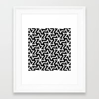arabic Framed Art Prints featuring Arabic by Patterns and Textures