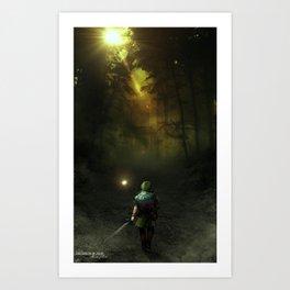 Minuet of Forest - Variant Art Print